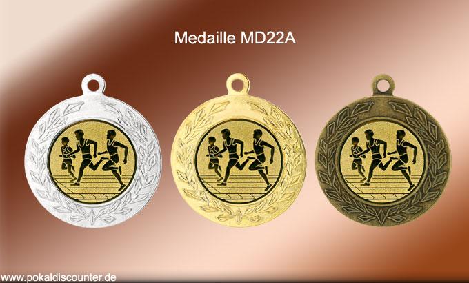 Medaille MD22a von Pokaldiscounter